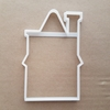 House Building Home Shape Cookie Cutter Dough Biscuit Pastry Fondant Sharp Stencil Chimney Cottage