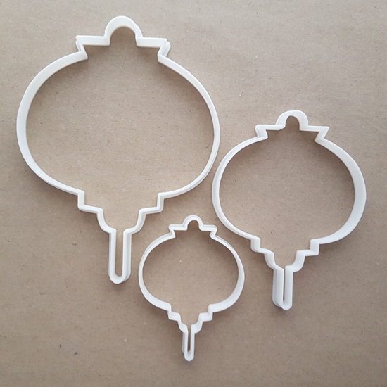 Lantern Light New Year Shape Cookie Cutter Dough Biscuit Pastry Fondant Sharp Stencil Chinese Paper
