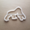 Gorilla Ape Silver Back Shape Cookie Cutter Dough Biscuit Pastry Fondant Sharp Stencil Animal Jungle