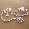 Sloth Mammal Animal Shape Cookie Cutter Dough Biscuit Pastry Fondant Sharp Stencil