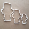 Leprechaun Irish Folklaw Shape Cookie Cutter Dough Biscuit Pastry Fondant Sharp Stencil Lucky Ireland Gnome Mythical St. Patrick's Day