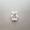 Rabbit Bunny Hare Pet Farm Shape Cookie Cutter Animal Biscuit Pastry Stencil Sharp Fondant Dough Easter