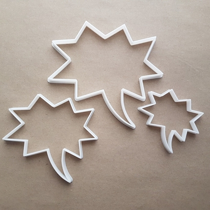 Speech Bubble Bam Comic Shape Cookie Cutter Dough Biscuit Pastry Fondant Sharp Stencil Thought Writing
