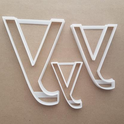 Alphabet Letter Y Lower Shape Cookie Cutter Dough Biscuit Pastry Fondant Sharp Stencil Writing Case