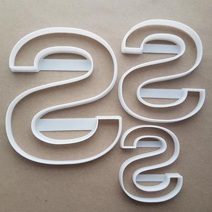 Alphabet Letter S Lower Shape Cookie Cutter Dough Biscuit Pastry Fondant Sharp Stencil Writing Case