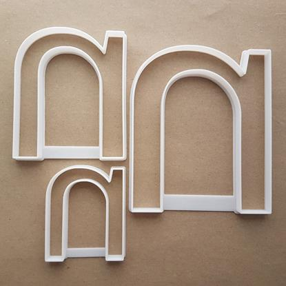 Alphabet Letter N Lower Shape Cookie Cutter Dough Biscuit Pastry Fondant Sharp Stencil Writing Case