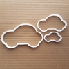 Car Cookie Cutter Dough Biscuit Vehicle Pastry Automobile Auto Mobile Shape Stencil Fondant Sharp