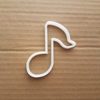 Music Note Shape Cookie Cutter Dough Biscuit Pastry Musical Sound Piano Guitar Sharp Stencil Fondant Instrument