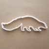 Skunk Animal Smelly Shape Cookie Cutter Dough Biscuit Pastry Fondant Sharp Stencil Critter Stinky Pest Rodent