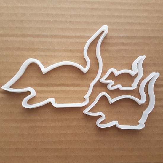 Mouse Shape Cookie Cutter Mice Biscuit Pastry Dough Animal Rodent Fondant Stencil Sharp Pest Pet Wild Gerbil