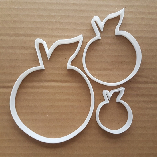 Cherry Shape Cookie Cutter Dough Pastry Biscuit Stencil Fruit Berry Food Plant Sharp Shape Fondant