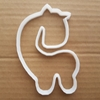 Giraffe Shape Cookie Cutter Dough Biscuit Pastry Stencil Zoo Animal Fondant Sharp Shape African Mammal