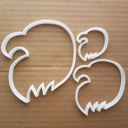Eagle Hawk Bird Fly Prey Shape Cookie Cutter Dough Biscuit Pastry Stencil Animal Sharp Head Wild Animal