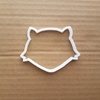 Fox Foxes Shape Cookie Cutter Dough Biscuit Pastry Stencil Animal Shape Sharp Cub Pest Wild Face Fondant