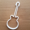Guitar Bass Electric Band Group Shape Cookie Cutter Music Biscuit Pastry Stencil Instrument Sharp Musical Fondant Dough