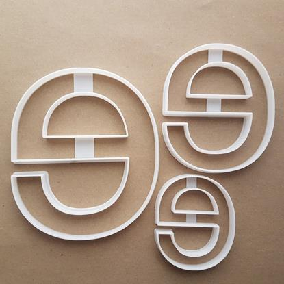 Alphabet Letter E Lower Shape Cookie Cutter Dough Biscuit Pastry Fondant Sharp Stencil Writing Case