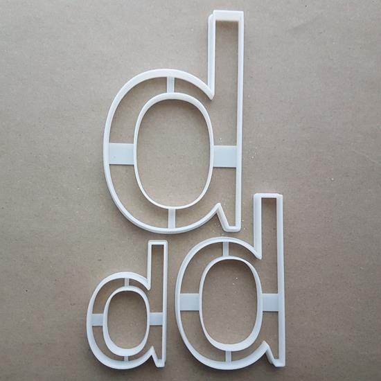 Alphabet Letter B Lower Shape Cookie Cutter Dough Biscuit Pastry Fondant Sharp Stencil Writing Case