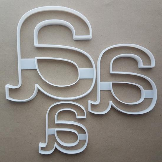 Letter A Lower Alphabet Shape Cookie Cutter Dough Biscuit Pastry Fondant Sharp Stencil Writing