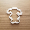 Girl Child Young Lady School Shape Cookie Cutter Dough Biscuit Pastry Stencil Pigtails Sharp Kid