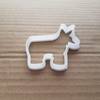 Donkey Mule Ass Pony Horse Shape Cookie Cutter Animal Biscuit Pastry Stencil Sharp Dough Farm
