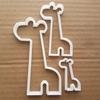 Giraffe Animal Zoo Shape Cookie Cutter Dough Biscuit Pastry Stencil Sharp Fondant African Mammal