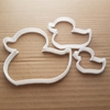 Duck Cookie Cutter Rubber Ducky Dough Pastry Duckling Shape Bird Animal Bath Sharp Stencil Fondant Biscuit Chick