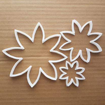 Flower Leaf Garden Plant Shape Cookie Cutter Dough Biscuit Pastry Fondant Sharp Stencil Floral Daisy