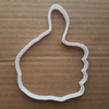 Thumbs Up Like Hand Emoji Shape Cookie Cutter Dough Biscuit Pastry Fondant Sharp Stencil Emoticon