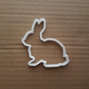 Rabbit Bunny Hare Farm Shape Cookie Cutter Dough Biscuit Pastry Fondant Sharp Easter Animal Stencil Sharp Fondant