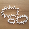 Bam Whack Comic Cartoon Shape Cookie Cutter Dough Biscuit Pastry Fondant Sharp Stencil Outline Pow