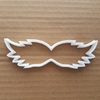Moustache Movember Hair Shape Cookie Cutter Dough Biscuit Pastry Fondant Sharp Stencil Mustache Body Part Hair