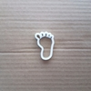 Foot Toes Feet Limb Body Shape Cookie Cutter Dough Biscuit Pastry Fondant Sharp Stencil Baby Shower Print Sole Body Part