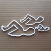 Swimmer Sport Pool School Shape Cookie Cutter Dough Biscuit Pastry Fondant Sharp Stencil Olympic Swimming Figure