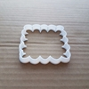 Square Bubble Fluffy Shape Cookie Cutter Dough Biscuit Pastry Fondant Sharp Stencil Scalloped Edge