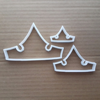 Crown Monarch King Queen Shape Cookie Cutter Dough Biscuit Pastry Fondant Sharp Stencil Tiara Headwear Clothing Jewels