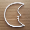 Moon Crescent Face Night Shape Cookie Cutter Dough Biscuit Pastry Fondant Sharp Stencil Sky Half