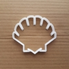 Shell Scallop Seaside Shape Cookie Cutter Dough Biscuit Pastry Fondant Sharp Stencil Beach Sea Side Ocean Summer