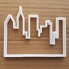 City Skyline Building Shape Cookie Cutter Dough Biscuit Skyscraper Pastry Fondant Sharp Stencil Town Sky Line