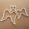 Angel Wings Guardian Shape Cookie Cutter Dough Biscuit Pastry Fondant Sharp Stencil Xmas Christmas Fairy Holy