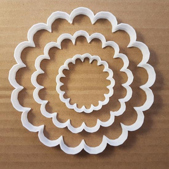 Shell Beach Circle Sea Shape Cookie Cutter Dough Biscuit Pastry Fondant Sharp Flower Stencil Scone Plant