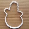 Snowman Xmas Snow Man Shape Cookie Cutter Dough Biscuit Pastry Fondant Sharp Stencil Christmas