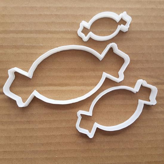 Sweet Treat Food Birthday Shape Cookie Cutter Dough Biscuit Pastry Fondant Sharp Stencil Candy Wrapper