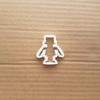 Robot Android Machine Shape Cookie Cutter Dough Biscuit Pastry Fondant Sharp Stencil Bot Droid Mechanical Toy