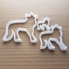 Fox Vixen Red Arctic Cape Shape Cookie Cutter Dough Biscuit Pastry Fondant Sharp Stencil Animal