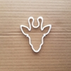 Giraffe Animal Zoo Shape Cookie Cutter Dough Biscuit Pastry Fondant Sharp Stencil African Mammal Head