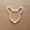 Reindeer Caribou Deer Shape Cookie Cutter Dough Biscuit Pastry Fondant Sharp Stencil Animal Head Mammal Xmas Christmas