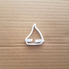 Yacht Sailing Boat Cookie Cutter Dough Biscuit Pastry Sail Vehicle Shape Stencil Beach Sharp Ship Ocean Fondant