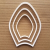 Pope Hat Papal Tiara Mitre Shape Cookie Cutter Dough Biscuit Fondant Sharp Stencil Holy