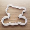 Teddy Bear Cuddly Toy Shape Cookie Cutter Dough Biscuit Pastry Fondant Sharp Stencil Baby Children's Soft Plush