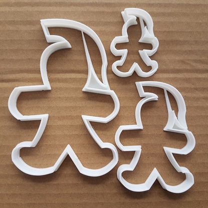 Spartan Gingerbread Man Shape Cookie Cutter Dough Biscuit Pastry Fondant Sharp Stencil Ginger Bread Pirate